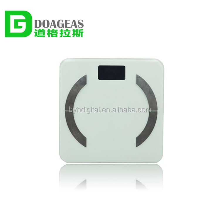 Promotional mini portable led display screen electronic digital smart weighing scale
