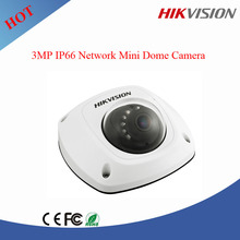 Best price 3MP Hikvision IP66 Network Mini Dome poe ip Camera DS-2CD2532F-I