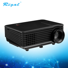 Good price 800 lumens support 3D 1080P HD home theater mini projector