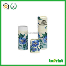 Empty lip balm ball containers paper tube for lip balm cosmetic packaging containers