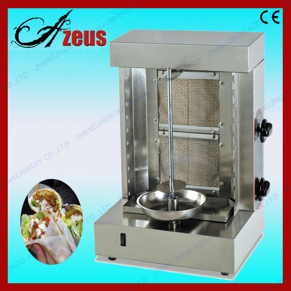 Gas/electric frozen kebab doner machine for sale