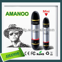 Fashionable And Reasonable Price with clear cartomizer Amanoo ego-t e-cigarette retailers