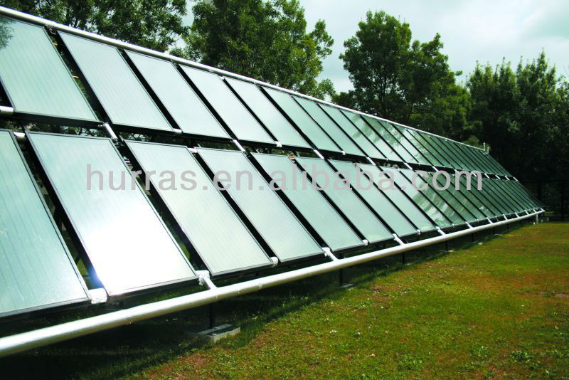 flat solar water heater,flat plate solar water heater collector