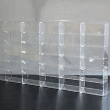 Factory Wall Mounted or Push Door Clear Acrylic Small <strong>Car</strong> Model Display Case