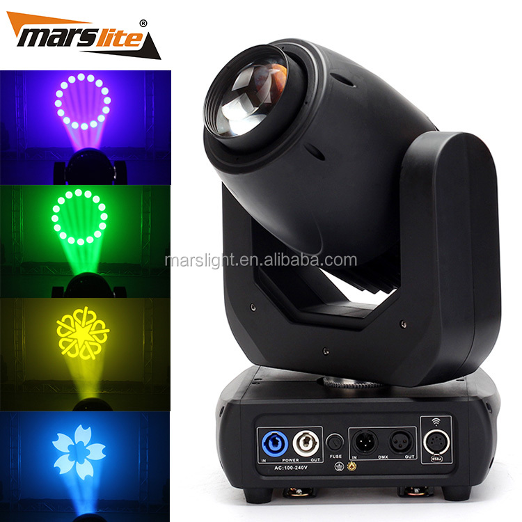 Guangzhou Cheap Pro Stage Lighting Equipment 150W High Output White LED Beam Moving Head lights and price