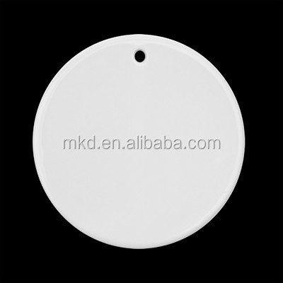 "Meikeda 4"" Round sublimation blank christmas ornaments"