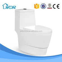 Water closet one piece solid surface ceramic wc mancesa toilet parts