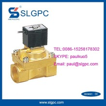 2 way brass temperature 12v dc high pressure solenoid valve electric water flow control SLGPC-SLG5404-06
