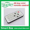 Smart Bes Can be customized 20 key mini equipment project remote control 8 m launch with C code infrared remote control
