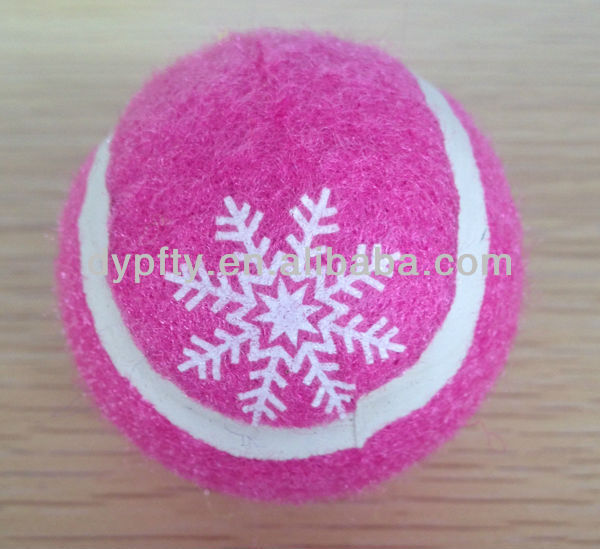 promotional pink tennis balls factory