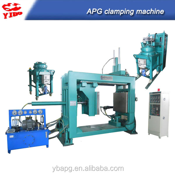 free training solid insulation embedded epoxy resin hydraulic forming machine