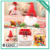 Christmas style Pendant leave shape transparent Christmas tree-shaped plastic bottle candy jar with screw cap christmas