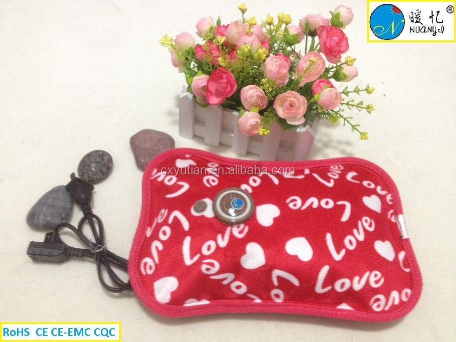 Electric Hot water Pack electric hand warmer electric hot water bottle electric hot water bag CIXI safe and cheap