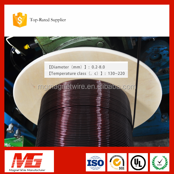 China Wholesale 18 Gauge Enamelled Aluminium Magnet Wire for Mini Pump