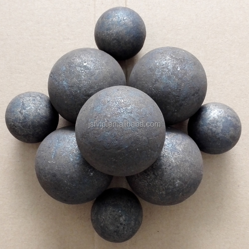 Mining Mill and Cement Mill used Low Price Forged Grinding Iron Steel Balls