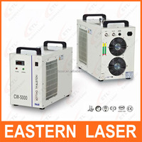 Hot sale portable air cooled chillers for laser industry cw5000 laser water chillers in stock