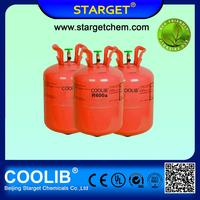 Basic Organic Chemicals Refrigerant Gas r600a with high purity for sale