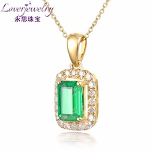 Emerald Cut Natural Emerald natural stone jewelry 1 piece,guangzhou perfect design jewelry,guangzhou jewelry wholesale cheap