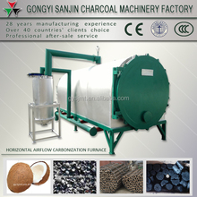 New design wood/coconutshell charcoal carbonization furnace