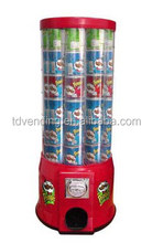 36X36X83cm Pringles Vending Machine, pot noodles vending machine, canned goods vending machine