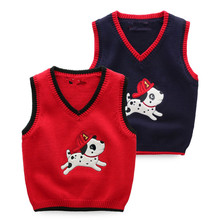 Autumn New Fashion Wholesale Tops Boy Crocheted Vest For Pet Dogs