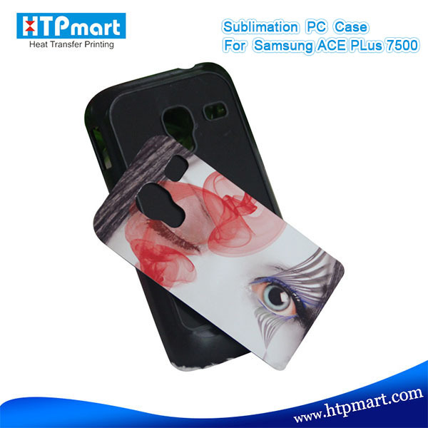 2D pc blank sublimation phone case flip cover for samsung galaxy ace plus s7500