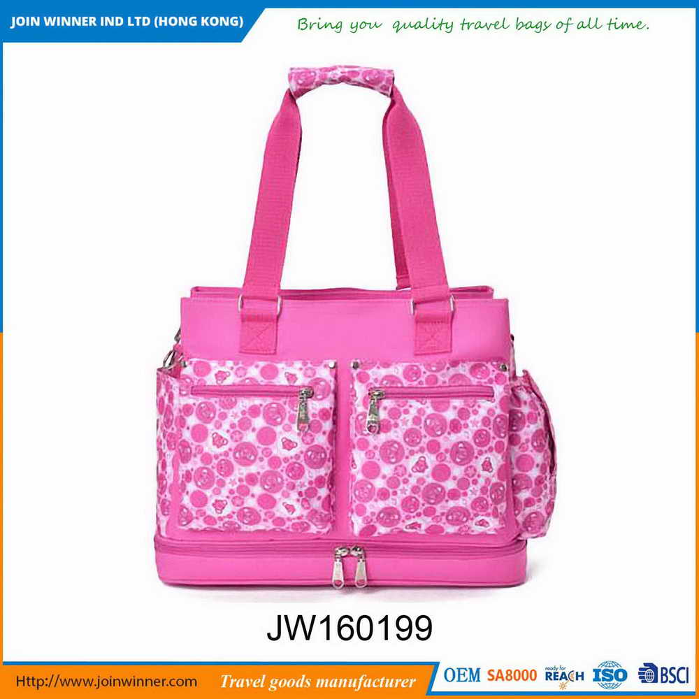 High Quality Machine Grade Luxury Baby Diaper Bag For Sport