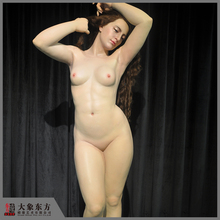 China No. 1 Wholesale Realistic Silicone Nude Wax Figure