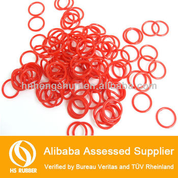 small soft silicone o ring