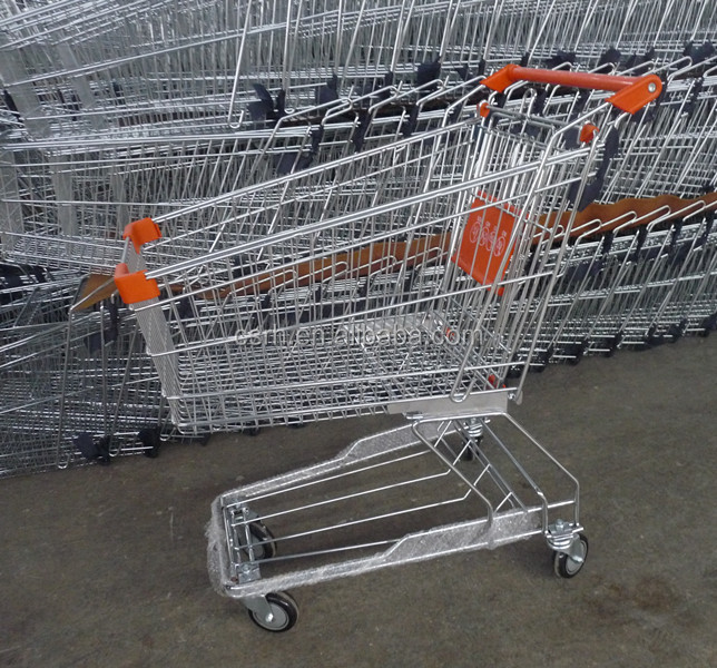 Hypermarket Stanrard Asian Type Shopping Mall Trolley