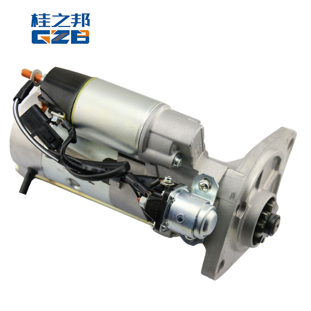 Excavator spare parts ME049303(M008T87171) (6D34) engine parts excavator motor starting for SY215 SK200-6