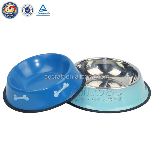 dog dishes & melamine dog bowl & suction cup pet bowl