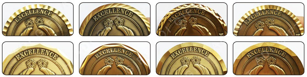 Cheap custom metal die stamping made company logo gold coin personalized for sale