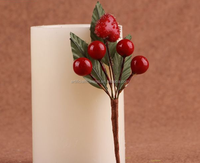 wedding decoration christmas ornament artificial christmas berries