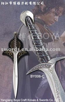 Decorative swords Antique decorative sword The Hobbit Frodo BY006C