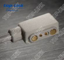 2pin pogo pin magnetic connector with USB cable