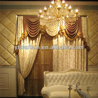 Housing style drapery curtain