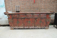 Antique Vintage Home Furniture Shabby Chic Altar Table Sideboard
