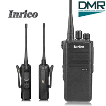 High Quality Inrico PD718 3-8km 5W 16 Channels IP67 waterproof VHF UHF DMR dual band mobile radio