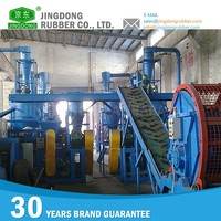 Colored Silicone rubber powder production line cutting machine