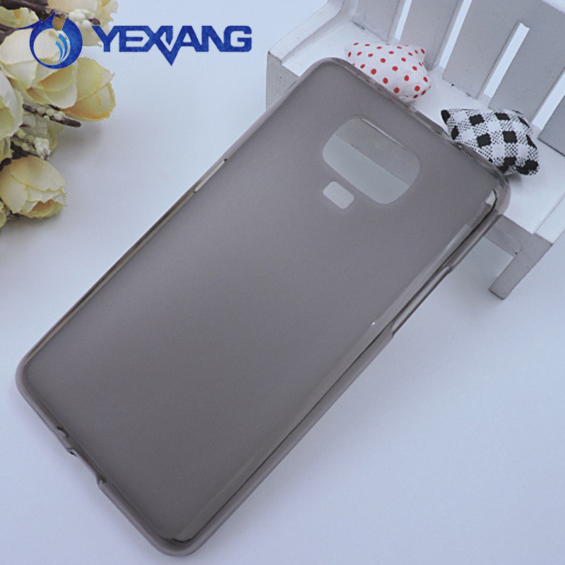 Phone Case Accessories Transparent Silicone Pudding Case Soft Tpu Back Cover Case For samsung Z4