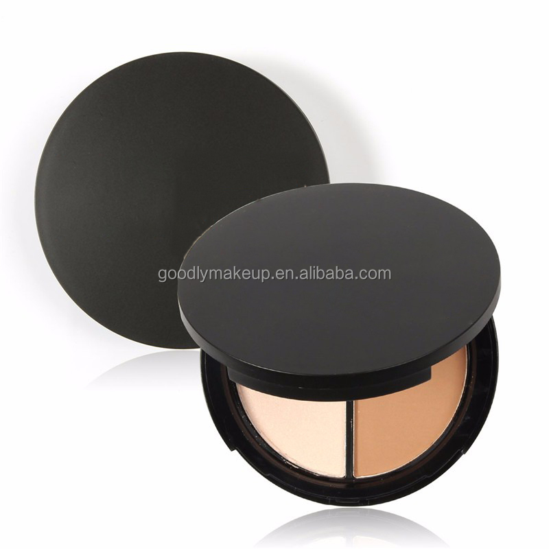 High Quality Lady Cosmetics Face Highlighter Private Label Highlighter Makeup Pressed Powder