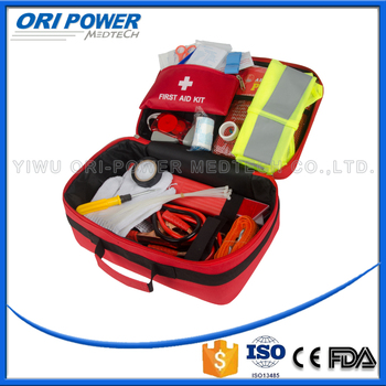 OP CE FDA ISO approved automobile professional outdoors first aid kit