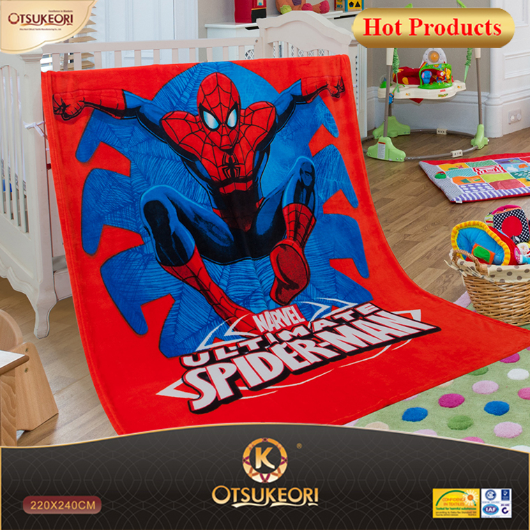Mickey/ spiderman/yellow duck/Snow White blanket, supet soft flannel blanket, printing blankets