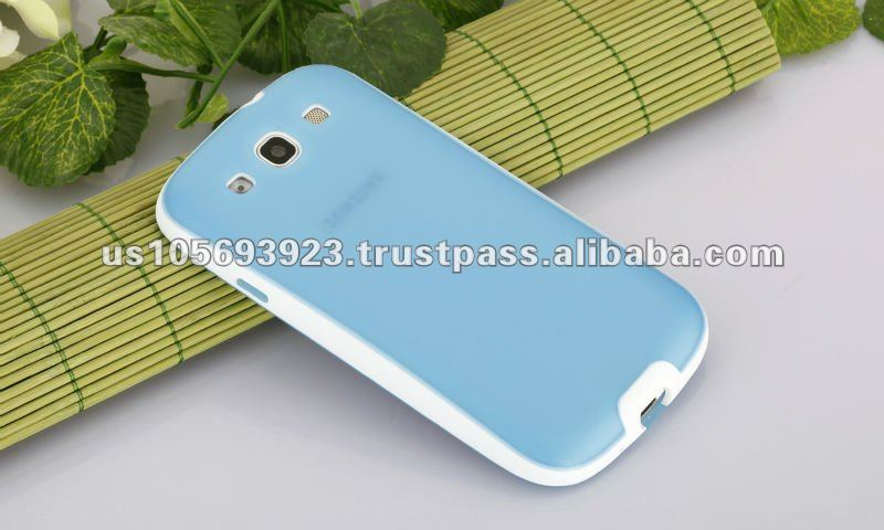 IMPRUE hige quality TPU back+pc Side combo case for Samsung Galaxy s3 I9300