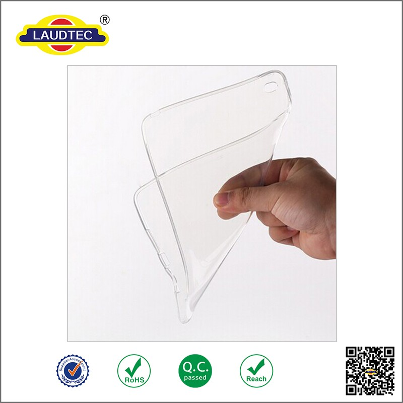 transparent clear tpu shockproof back cover tablet case for ipad pro ,soft gel back cover case