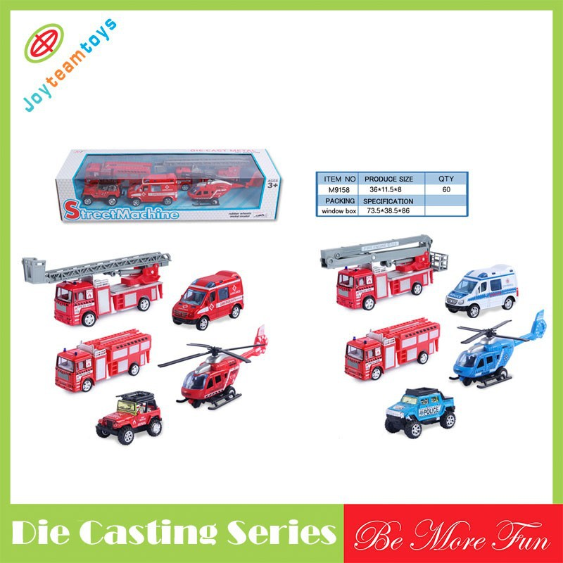 5pcs die casting model metal car for sale