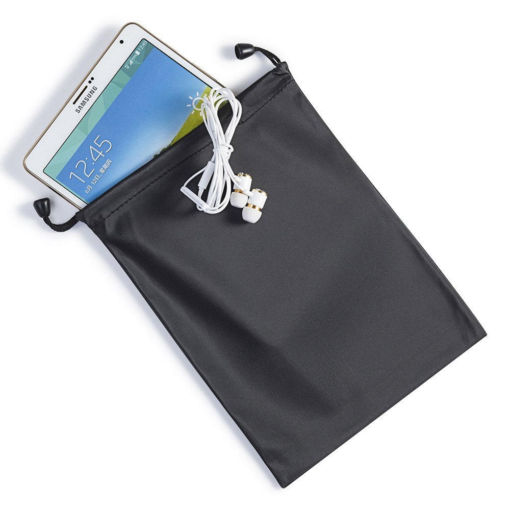 Waterproof Black Dark Small Carrying Storage Pouch Case for Pencil Case Cosmetic Bags iPad Mini,case for hea
