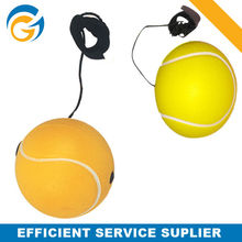 Tennis Promotional Gifts Sports Toys Pu Ball Keychain