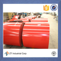 full hard pre-painted steel coils used as metal roofing and ceiling tiles